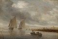 Salomon van Ruysdael - River Scenery - DEP13 - Statens Museum for Kunst.jpg