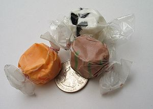 Salt water taffy - Image: Salt water taffy