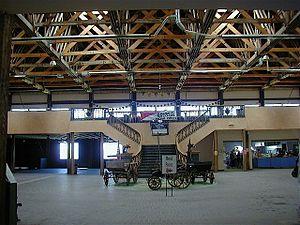Saltair (Utah) - Interior of Saltair III Pavilion, August 2002