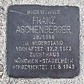 Salzburg - Itzling - Itzlinger Hauptstraße Stolperstein Aschenberger - 2019 07 04.jpg