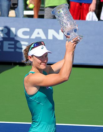Samantha Stosur - Stosur wins the Southern California Open in 2013