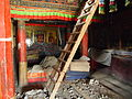 Samye Monastery is still under maintenance because of the destruction by cultural revolution.jpg