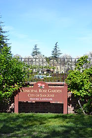 San Jose Municipal Rose Garden Wikipedia