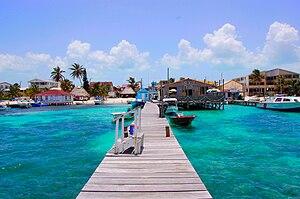 Ambergris Caye - Image: San Pedro Beach