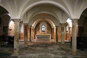 San Vincenzo in Prato - Image: San Vincezo in prato Milano cripta