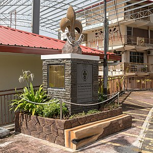 Thomas Cecil Alexander - North Borneo Scout Movement Monument in Sandakan, Sabah
