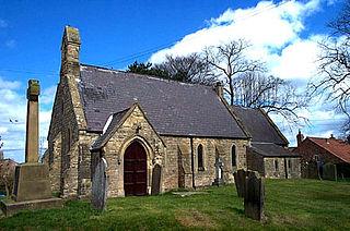 Sandhutton Village and civil parish in North Yorkshire, England