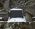Sandomierz cmentarz żydowski lapidarium tablica 31.12.2010 p.jpg