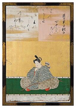 Sanjūrokkasen-gaku - 7 - Kanō Tan'yū - Ariwara no Narihira Ason