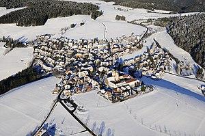 Sankt Märgen - Aerial view
