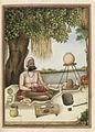 Sannyasi' a Saiva mendicant - Tashrih al-aqvam (1825), f.363v - BL Add. 27255.jpg