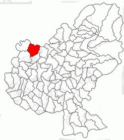 Vị trí của Sânpetru de Câmpie