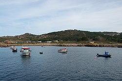 Santa Mariña, Xaviña, Camariñas - porto.jpg