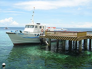 Central Visayas - Fastcraft terminal for ferrying passengers from Cebu to Negros.
