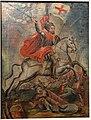 Santiago in Battle, Mexican Colonial, oil on wood - Oakland Museum of California - DSC05093.JPG