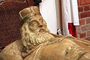 Jan II the Good - Image: Sarkofag Jan II Dobrego głowa