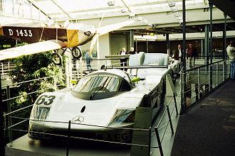Sauber C9 - Image: Sauber C9 1989