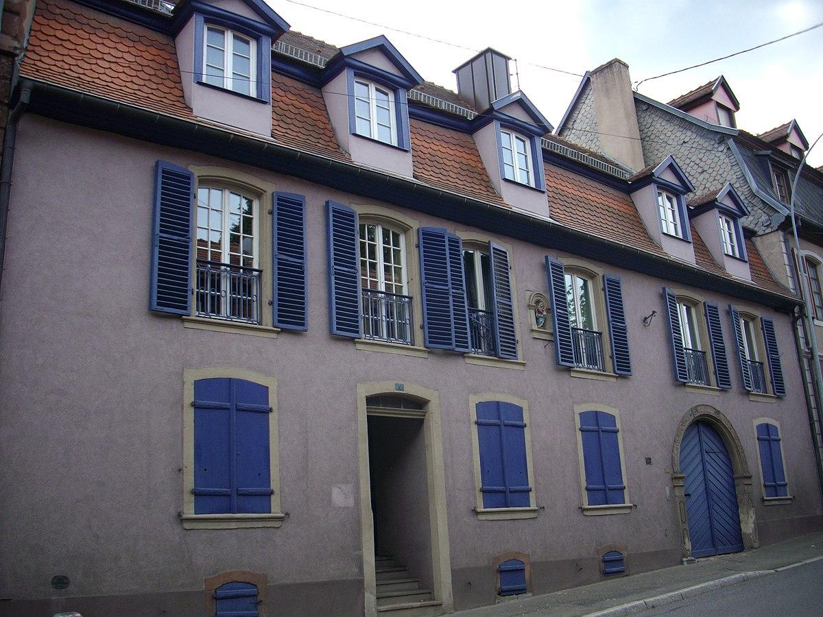 Maison Au 5 Route De Paris  U00e0 Saverne  U2014 Wikip U00e9dia
