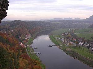 Rathen - Image: Saxon Bastei 1
