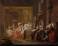 Scène uit het huwelijk van Messalina en Gaius Silius, mogelijk episode uit een toneelstuk Rijksmuseum SK-A-4779.jpeg