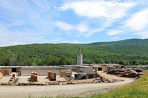 Tunkhannock Township, Wyoming County, Pennsylvania - Osterhout Mountain in Tunkhannock Township in July 2016