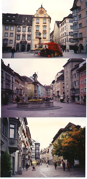 Schaffhausen - Views of old town, Schaffhausen