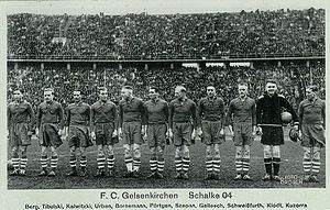 Schalker Vorkriegsmannschaft