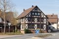 Schlitz Hutzdorf Lindenstr Half-timbered Building 1858 df.png