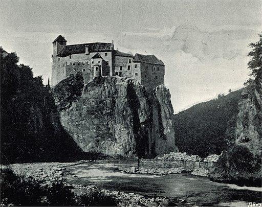Schloss Runkelstein um 1898