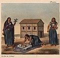 Schmidtmeyer- Scharf, George Johann - 3 Mapuche women -JCB Library 2.0.jpg