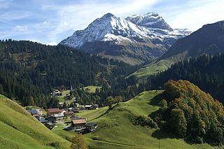 Schröcken Place in Vorarlberg, Austria