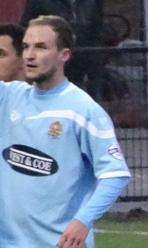 Scott Doe - Doe playing for Dagenham & Redbridge in 2014