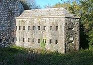 Scraesdon Fort - Caponier - geograph.org.uk - 345243