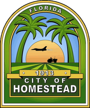 Homestead, Florida - Image: Seal of Homestead, Florida