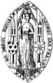 Seal of Joan II, Countess of Burgundy.png