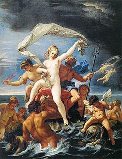 Roman goddess of salt water