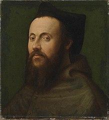 Bildnis eines Geistlichen des päpstlichen Hofes