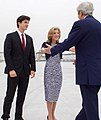 Secretary Kerry is Greeted by Ambassador Kennedy (cropped).jpg