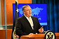 Secretary Pompeo Delivers Remarks to the Media (32411925347).jpg
