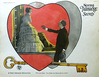 Secrets (1924 film) - Lobby card