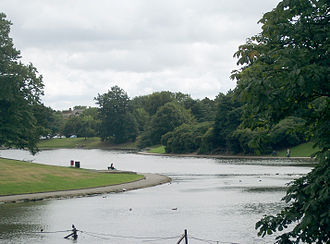 Édouard André - Sefton Park boating lake, designed by André