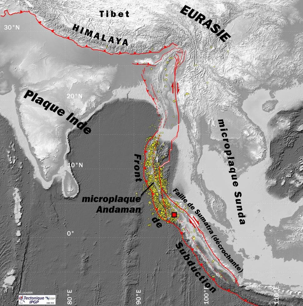 Seisme Sumatra CADRE