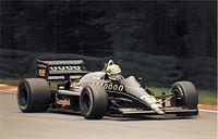 Senna Britannian GP:ssa vuonna 1986