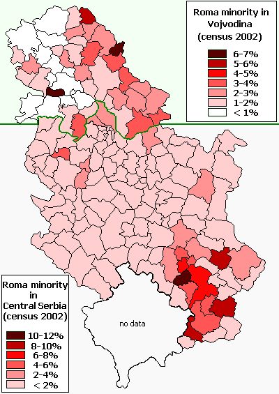 Serbia roma 2002