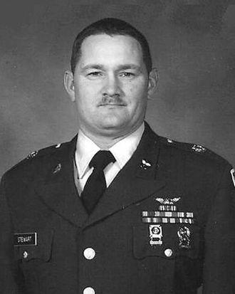 Patrick Stewart burial controversy - Sergeant Patrick Dana Stewart