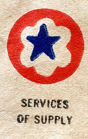 United States Army Services of Supply - Services of Supply Insignia