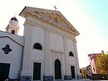 La chiesa parrocchiale di Santa Sabina di Trigoso