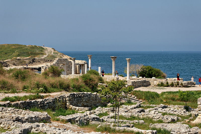 Sevastopol Chersonesus Basilica (c) Alexxx1979, Wikipedia, 7th May 2012