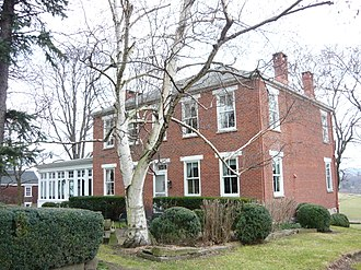Mount Pleasant Township, Westmoreland County, Pennsylvania - Sewickley Manor (1852) National Register of Historic Places