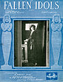 Sheet music cover - FALLEN IDOLS - SONG (1919).jpg